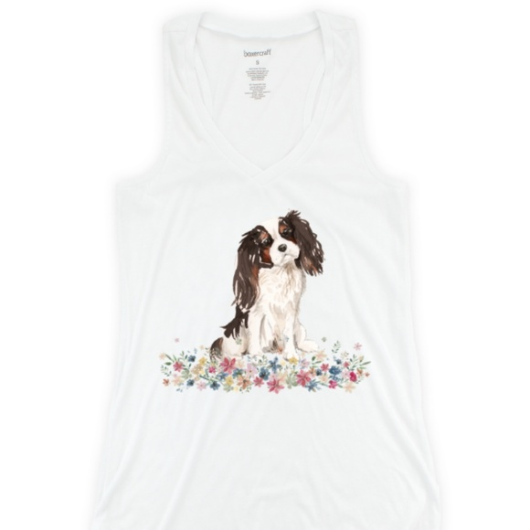 Other - PJ Tank - Tricolor Cavalier King Charles